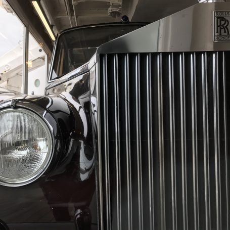 Rolls Royce on the Royal Yacht Britannia