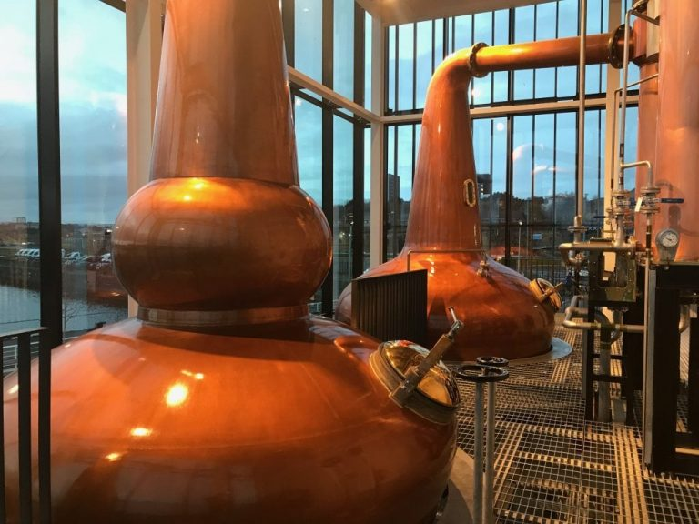 Clydeside Distillery Stills