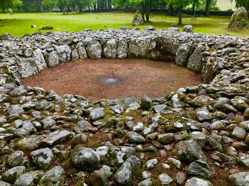 Clava Cairns Stone Circle