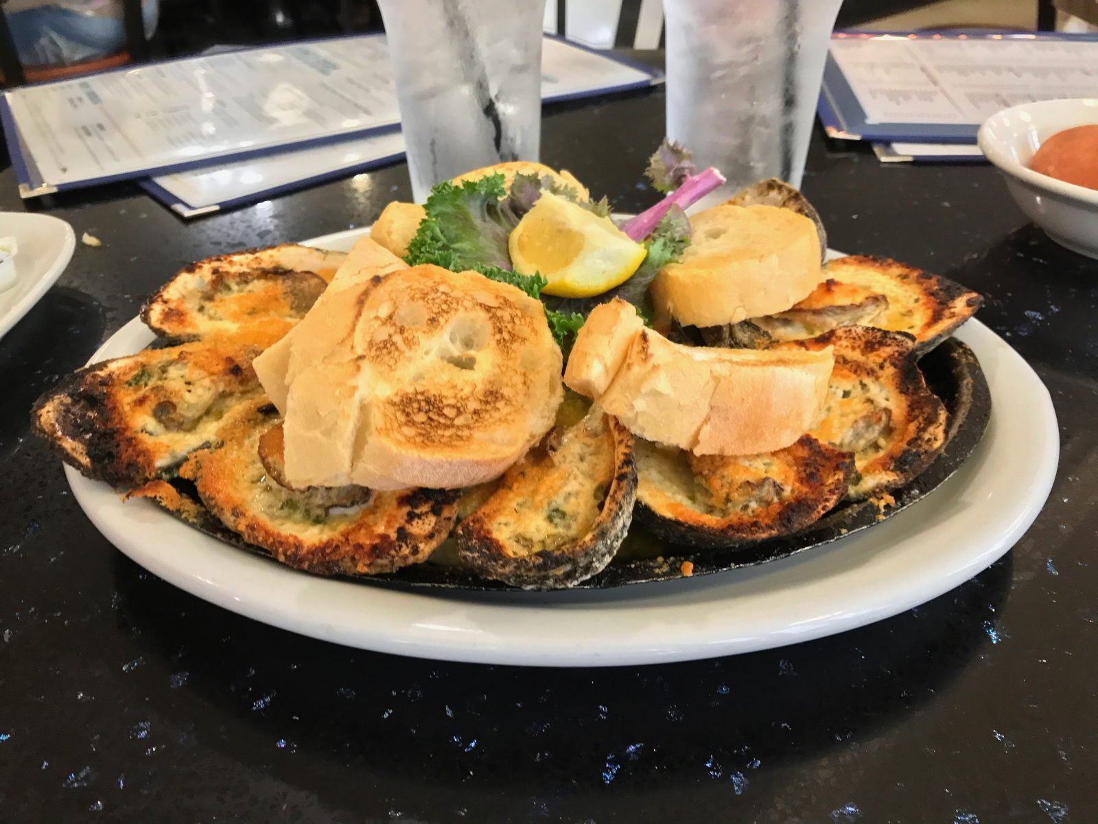 Cheesy Grilled Oysters Recipe