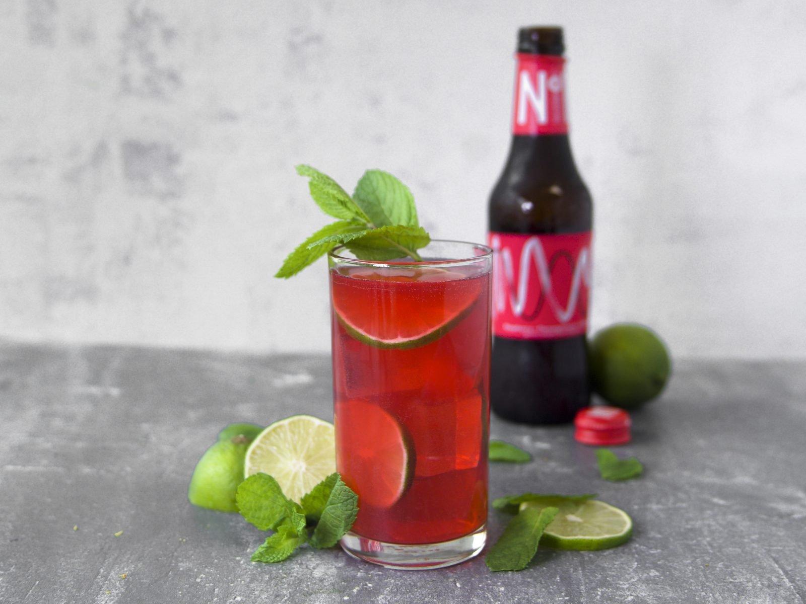 No 1 Kombucha Raspberry, Pomegranate & Hibiscus