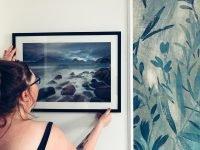 Photowall frame and print