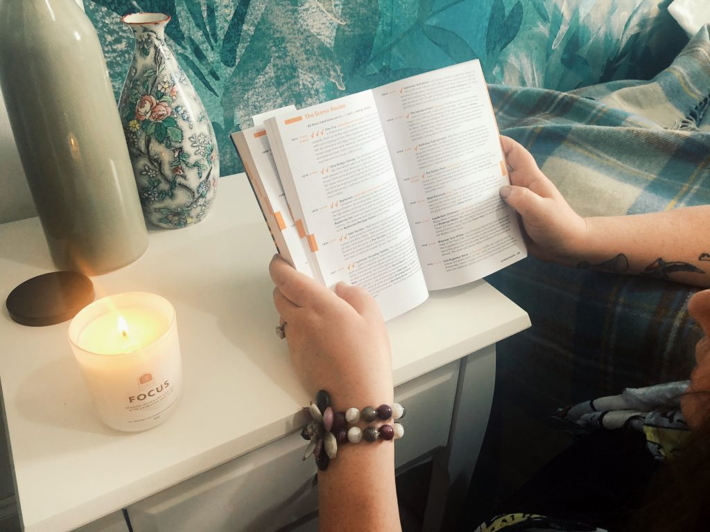 Wellbeing candle