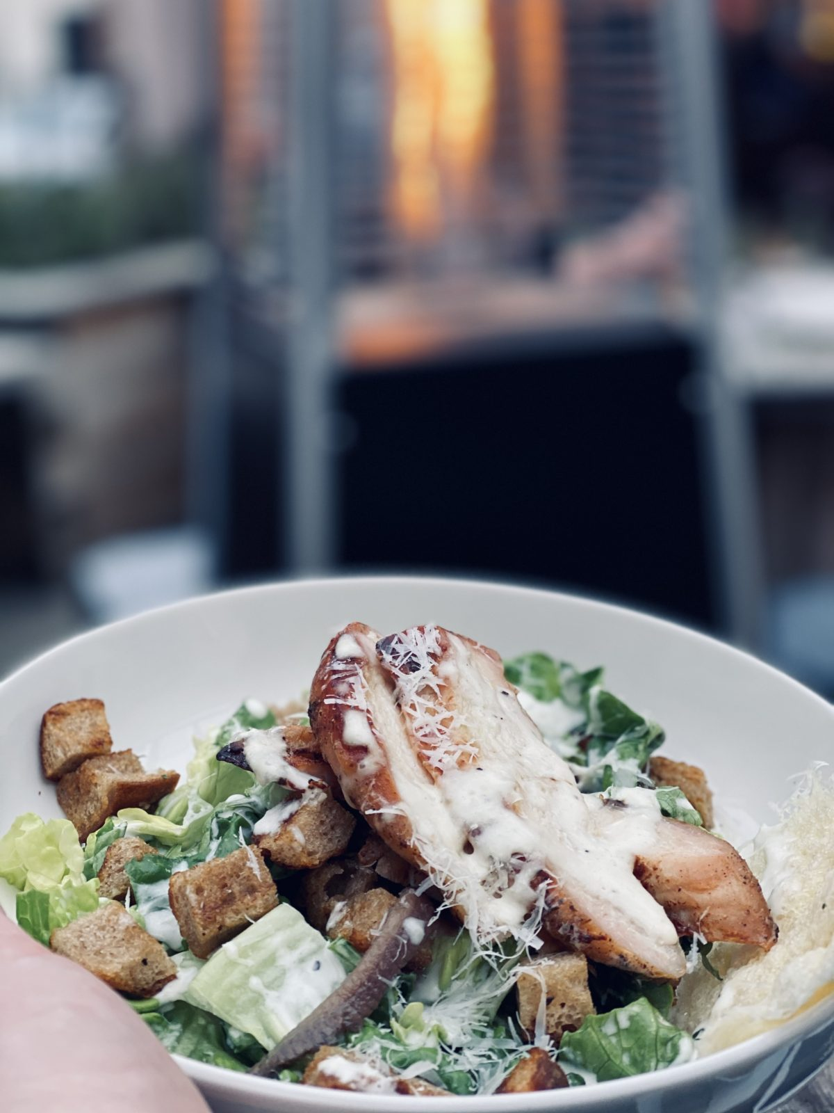 chicken parmesan salad MacGregors