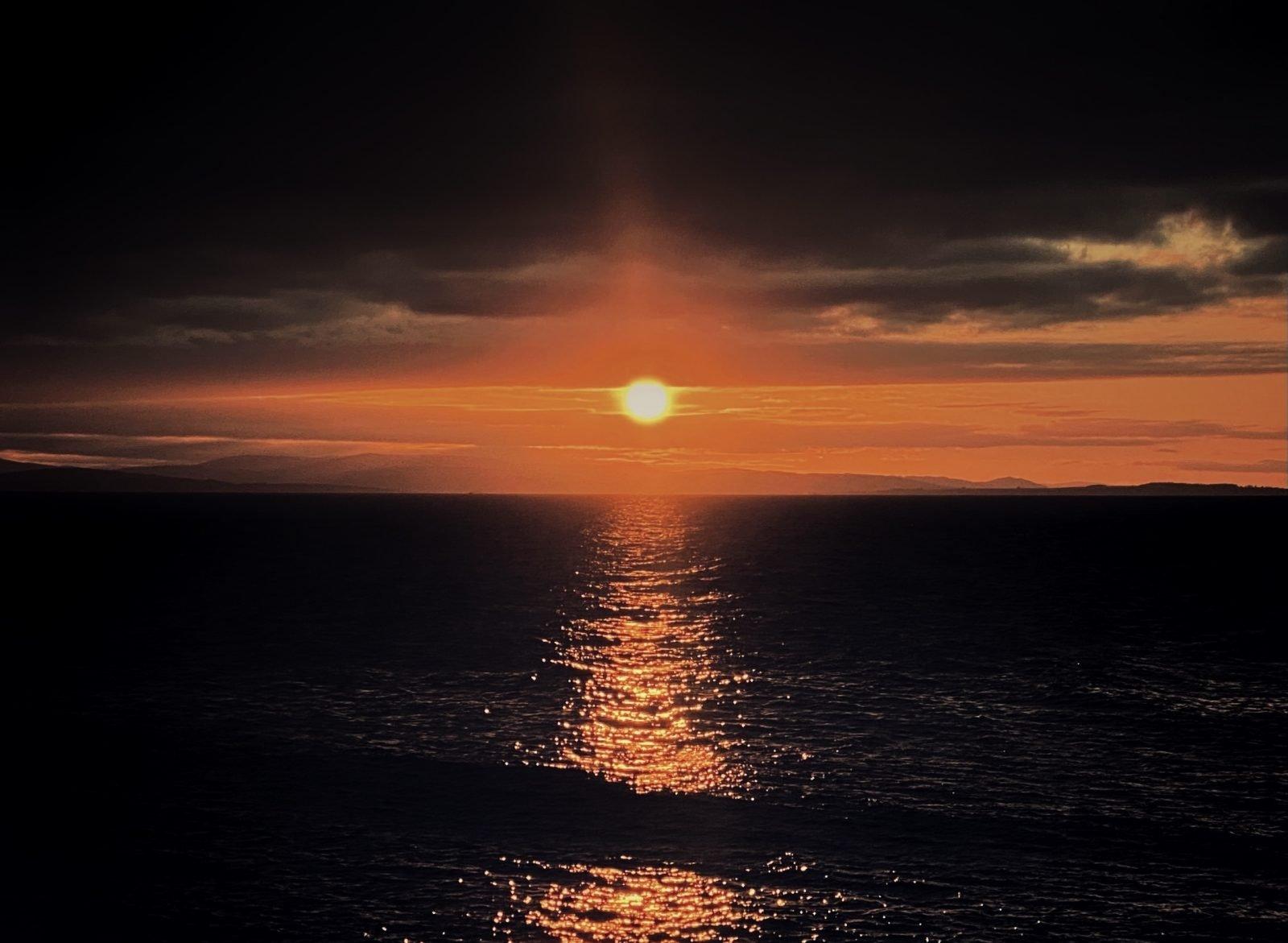 Burghead sunset