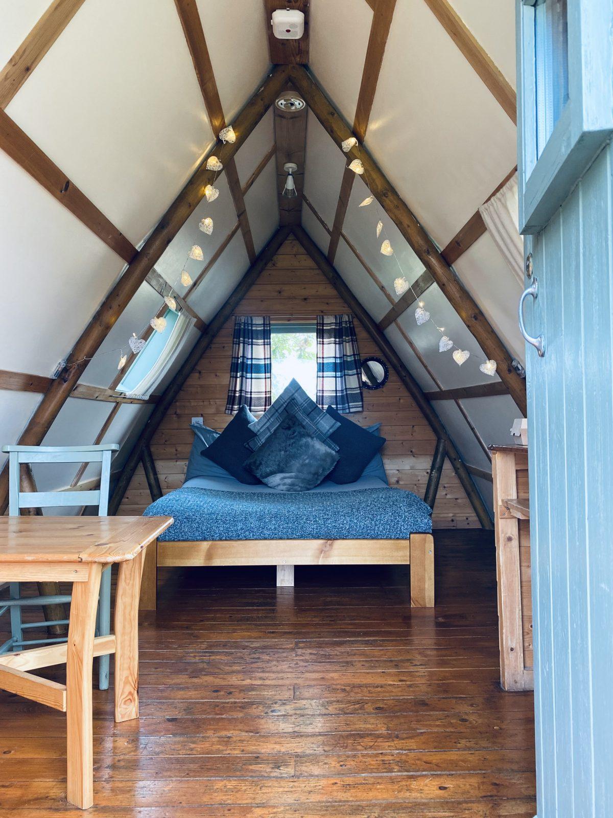 The Loft glamping cabin
