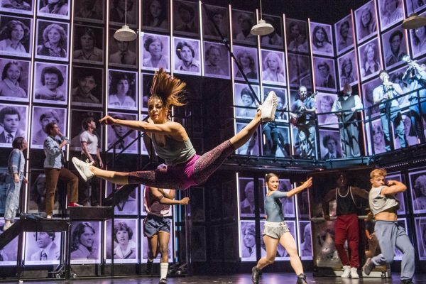 A scene from Fame The Musical Tour @ Palace Theatre, Manchester. Director and Choreographer Nick Winston. (Taken 19-07-18) ©Tristram Kenton 07-18 (3 Raveley Street, LONDON NW5 2HX TEL 0207 267 5550  Mob 07973 617 355)email: tristram@tristramkenton.com