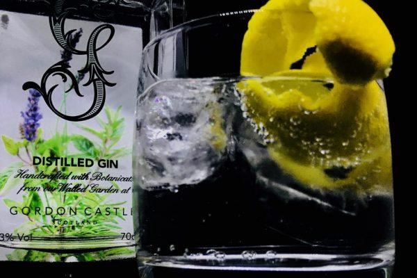 Gordon Castle Gin Lemon